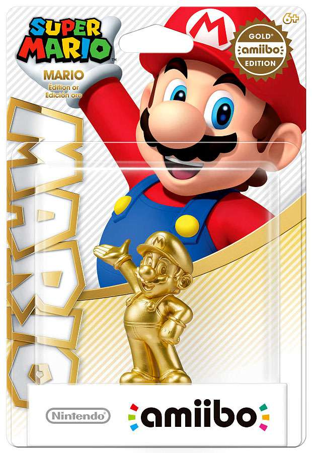 Mario Amiibo Gold Edition Walmart Exclusive (Nintendo Wii U or 3DS) by Nintendo