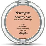 2 Pack - Neutrogena Healthy Skin Compact Makeup SPF 55, Natural Ivory [20], .35 oz