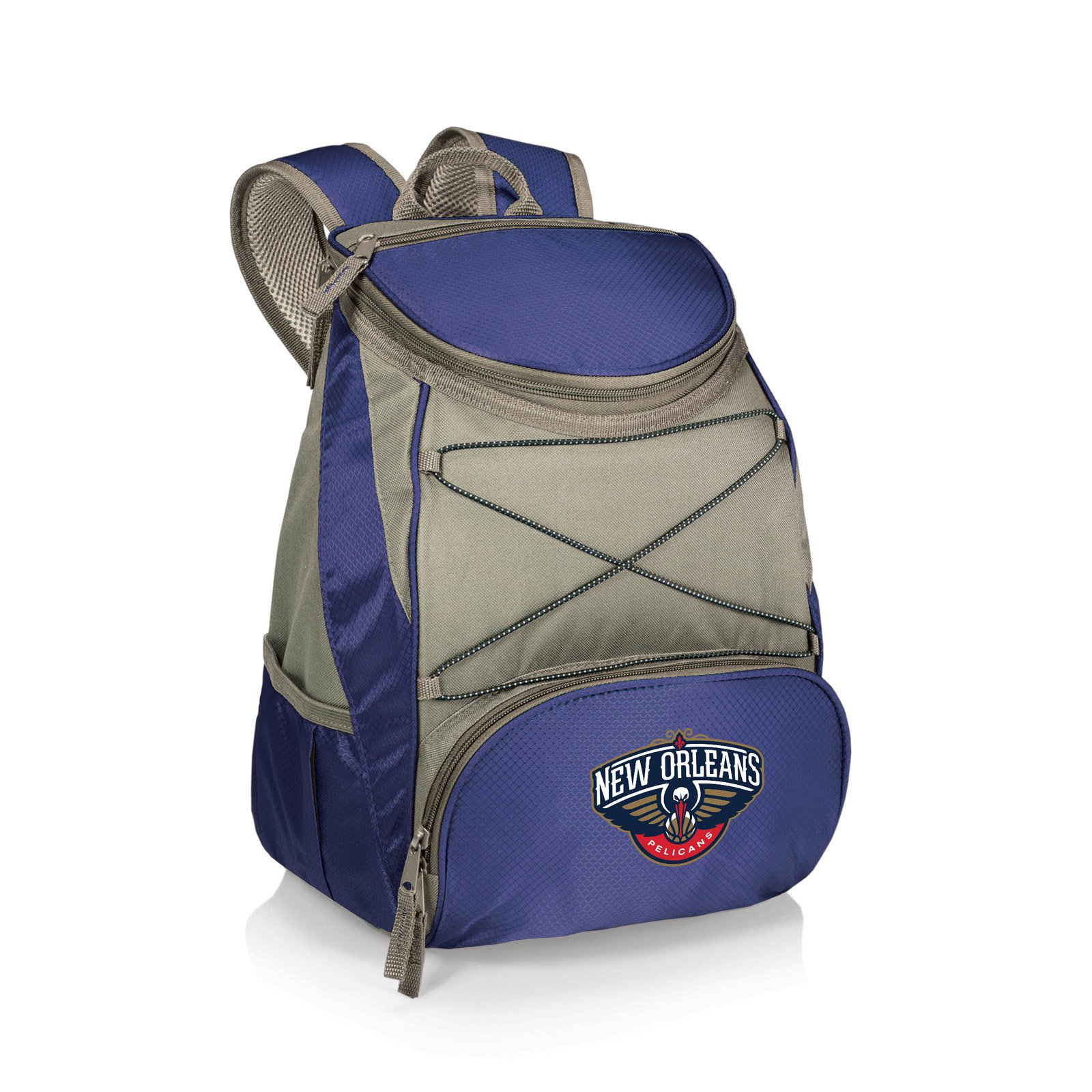 """Picnic Time PTX Cooler Backpack Golden State Warriors Print  11"""" x 7"""" x 12.5"""""""