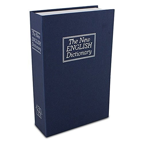 Dictionary Diversion Book Safe with Combination Lock (Large)