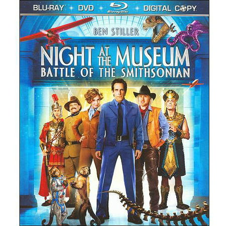 Night At The Museum  Battle Of The Smithsonian  Blu Ray   Dvd   Widescreen