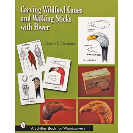 Carving Wildfowl Canes and Walking Sticks with Power