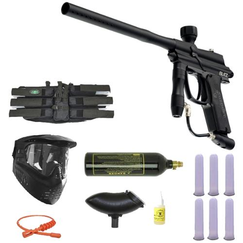 Azodin Blitz Paintball Marker Gun 3Skull Mega Set by