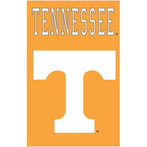 "Tennessee Volunteers 2-sided Applique 44"" X 28"" Banner"
