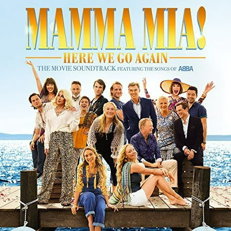 Mamma Mia!: Here We Go Again (The Movie Soundtrack Featuring the Songs of ABBA) (CD)](Original Halloween Movie Soundtrack)