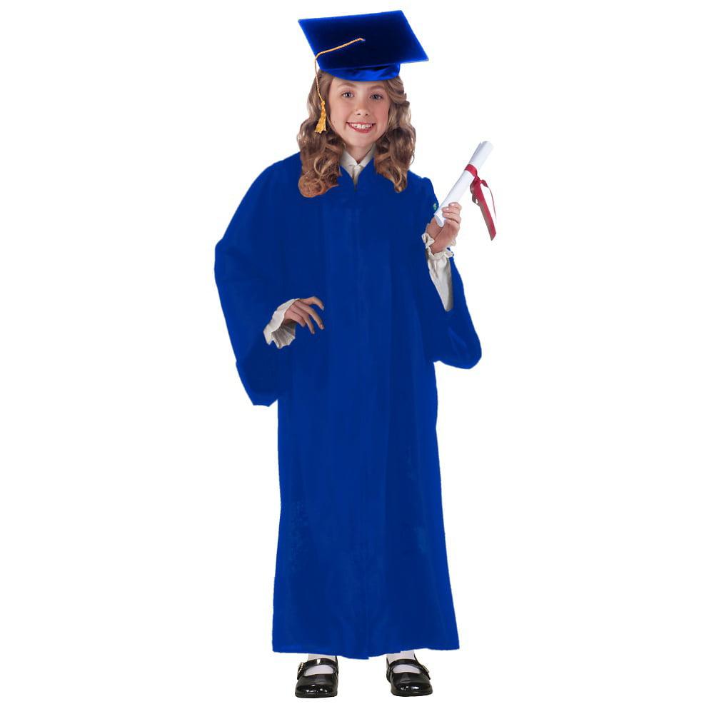 Graduation Robe Child Costume Green - One Size