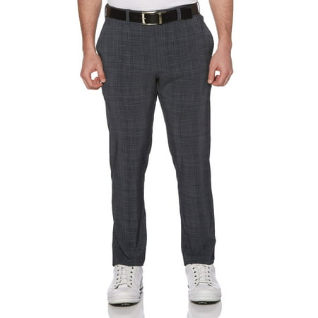 Performance Men's Slim Fit Flat Front Printed Pant