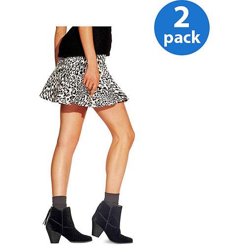"No nonsense Women's Boot Socks Ultra Smooth 9,"" 2 Pack"