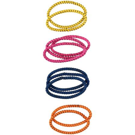 Sleeve Scrunchies - Goody® Slideproof™ Silicone Elastics 10 ct Sleeve
