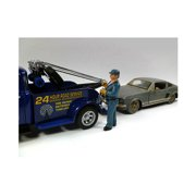 Tow Truck Driver/Operator Bill Figure For 1:24 Scale Diecast Car Models by American Diorama