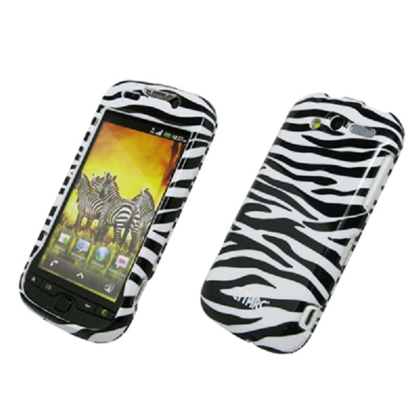 EMPIRE Zebra Design Snap-On Cover Case for T-Mobile HTC myTouch 4G
