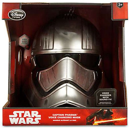 Star Wars The Force Awakens Captain Phasma Voice Changing Mask Roleplay Toy - Voice Changing