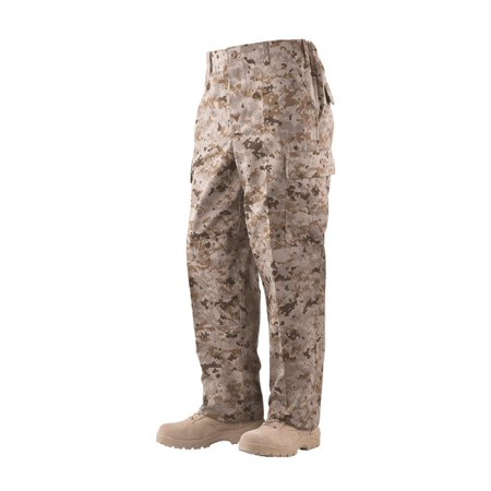 Battle Trousers Desert Digital 65/35 Poly, Cotton Twill, Small Regular