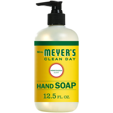 ((3 Pack) Mrs. Meyer's Clean Day Liquid Hand Soap, Honeysuckle, 12.5 Oz)
