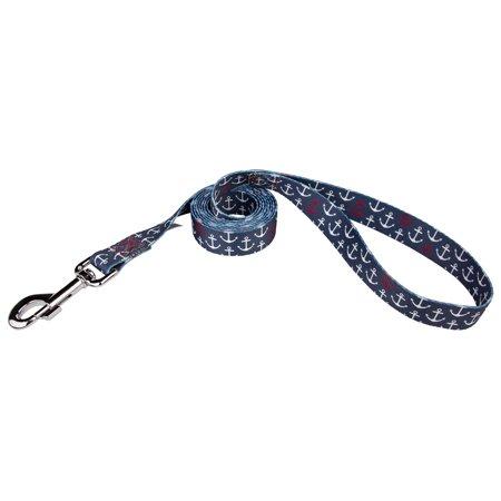 Dog Anchor Kit (Country Brook Petz | 5/8 Inch Anchors Away Dog Leash - 6 Foot)