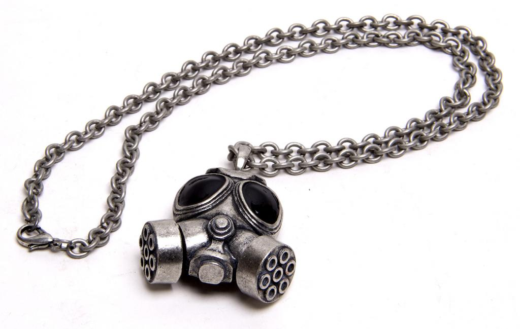 Biohazard Gas Mask Silver by Gravity