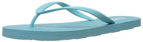 Flojos Women's Kai Flip Flop, Turquoise, 6 M US by Flojos