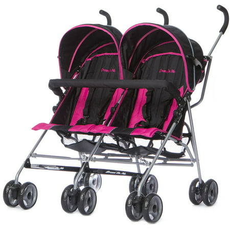 Dream On Me Twin Stroller, Choose Your Color - Walmart.com
