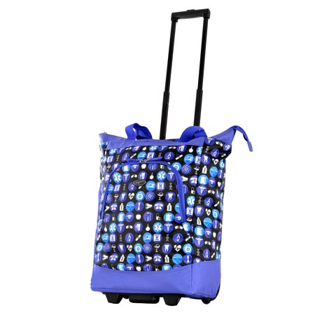 OLYMPIA USA LIFESAVER ROLLING SHOPPER TOTE Rolling Shopper Tote