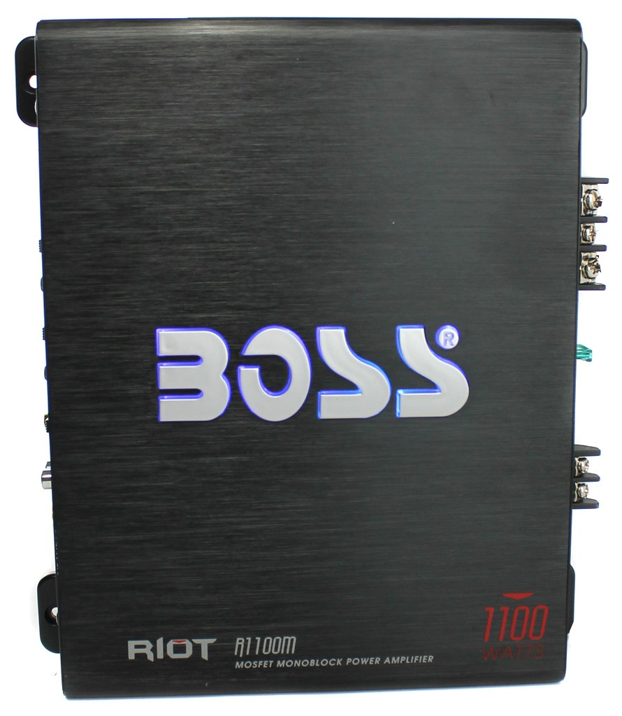 boss audio r1100m riot 1100 watt monoblock class a b car rh walmart com