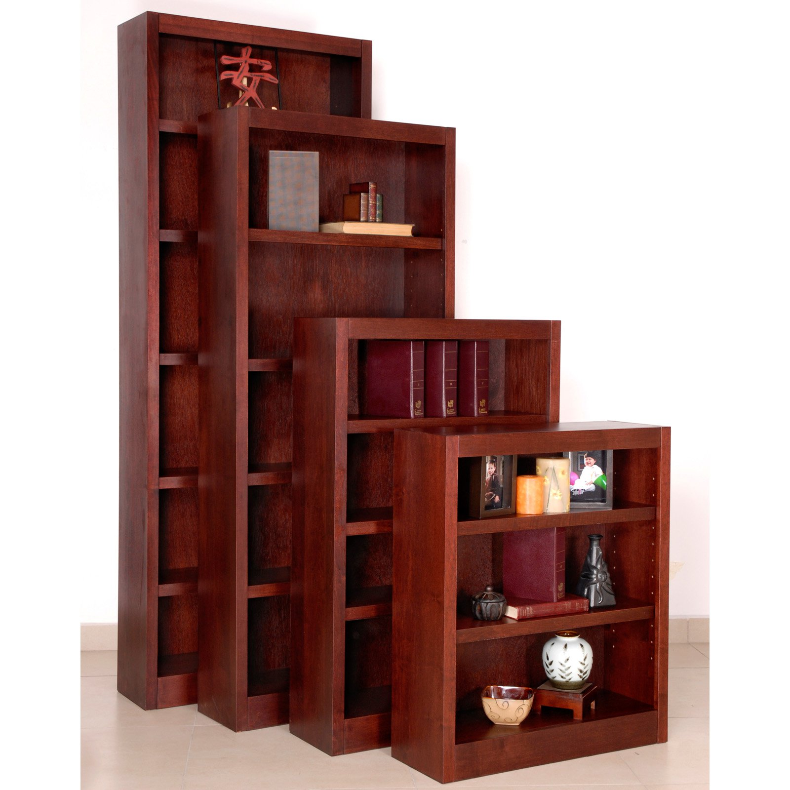 Concepts in Wood Single Bookcase