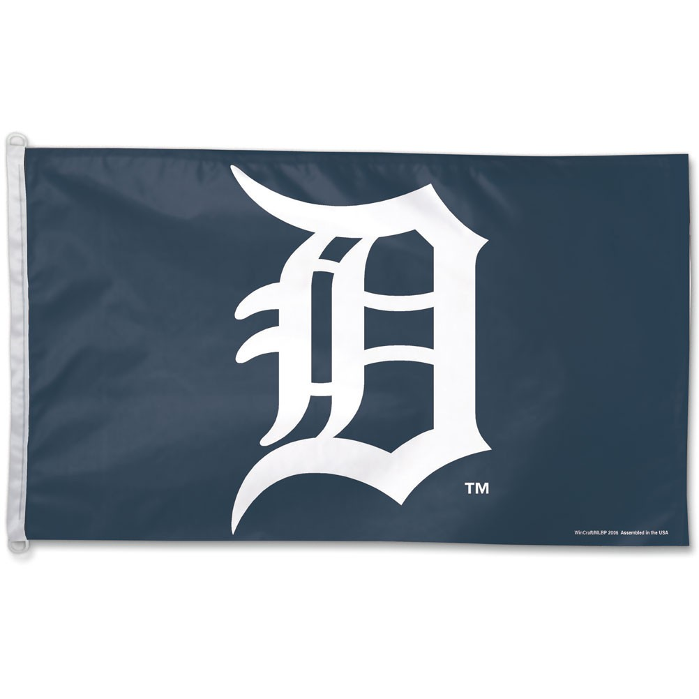 Detroit Tigers Official MLB 3ftx5ft Banner Flag by Wincraft