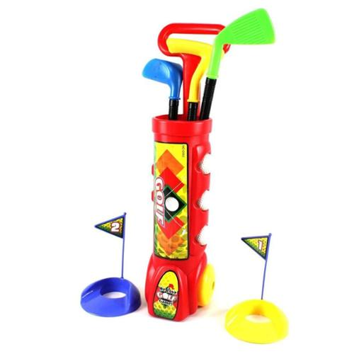 Deluxe Kid's Happy Golfer Toy Golf Set Playstation 311 Red (Gift Idea) by