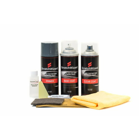 Suzuki Oem Paint - Automotive Spray Paint for Suzuki XL-7 ZA5 (White Pearl Tricoat) Spray Paint Kit by Scratchwizard