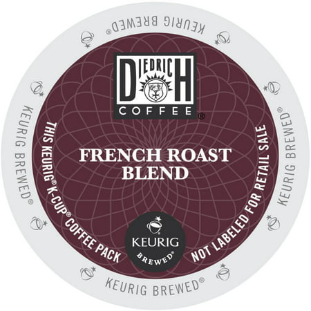 Diedrich Coffee French Roast Single Serve Coffee for Keurig, Original, 24 Ct
