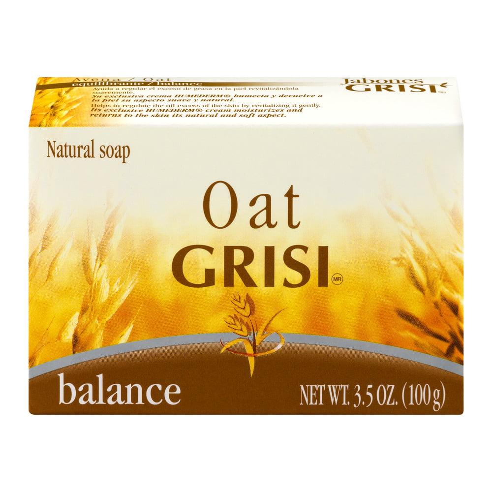 GRISI Oat Balance Natural Soap, 3.5 OZ