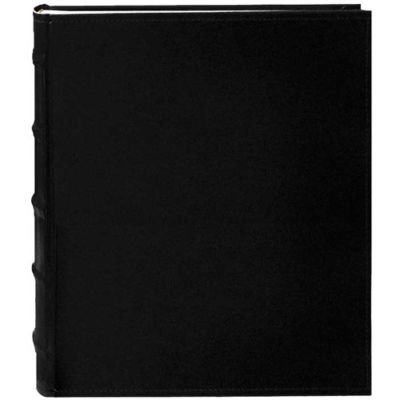 - Pioneer Photo Albums CLB246-BL Leather Bi-Directional Album 4X6 2-UP 200 Photo Black