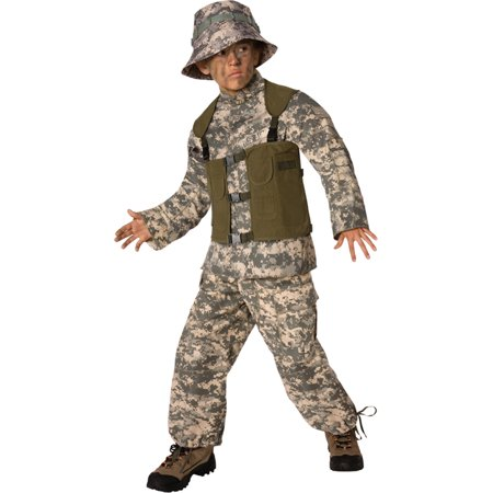 Morris costumes LF3502CLG Delta Force Child 12-14