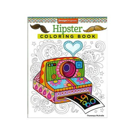 Design Originals Hipster Coloring Bk