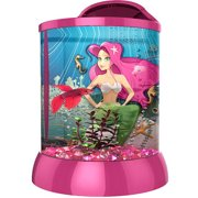 Aqua Terra 2 Gallon with 3D Mermaid Background, Pink