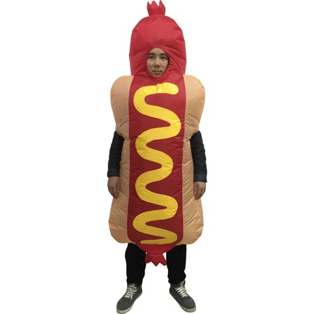 Hotdog Inflatable Adult Costume - Creative Couples Halloween Costumes Ideas