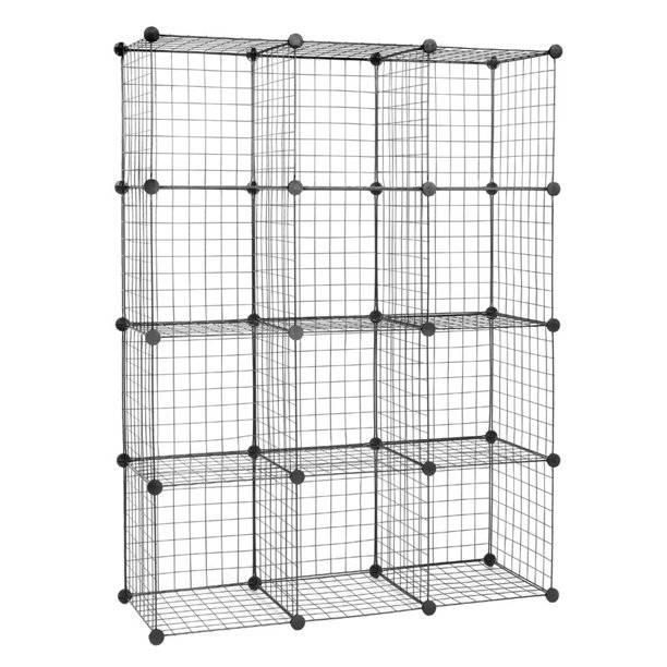 Pop-It 4-Tier Heavy Duty Collapsible Storage Shelf - QVC.com | 612x612