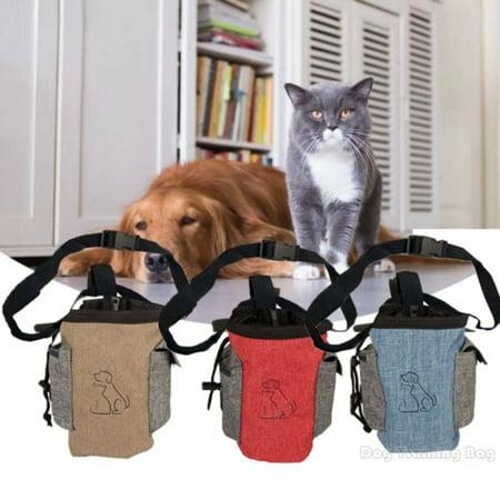 Pet Dog Training Treat Puppy Snack Bag Pouch Storage Holder Dispenser