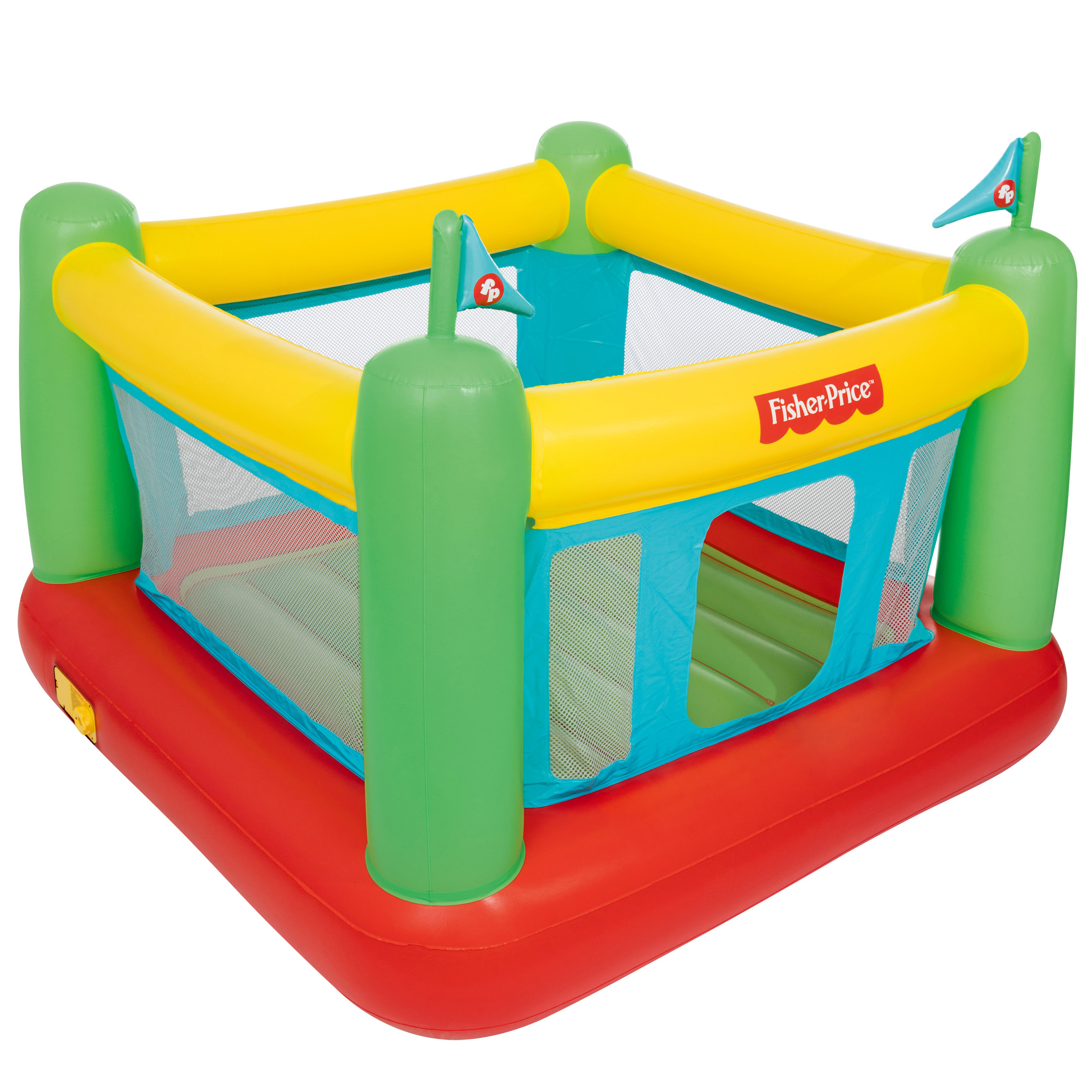 Fisher Price 69 X 68 X 53 Bouncer With Built In Pump Walmart Com