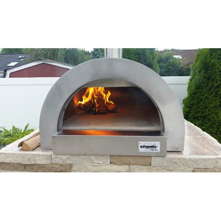 Ilfornino F Series Mini Professional Stainless Steel Wood Fired Pizza Oven