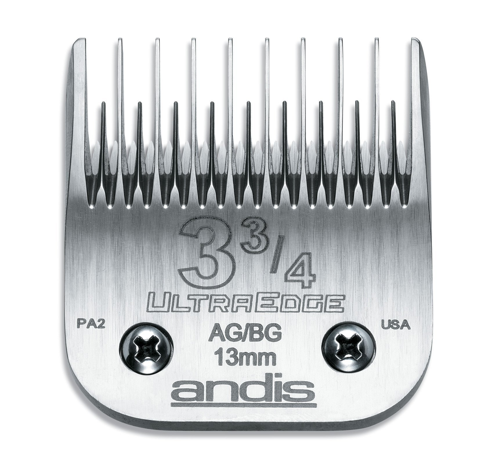 Andis Ultra Edge Size 3-3/4 Skip Tooth: 1/2; (13 mm)