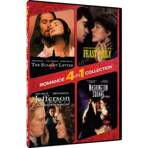 4-In-1 Romance: Scarlet Letter   Washington Square by Mill Creek Entertainment