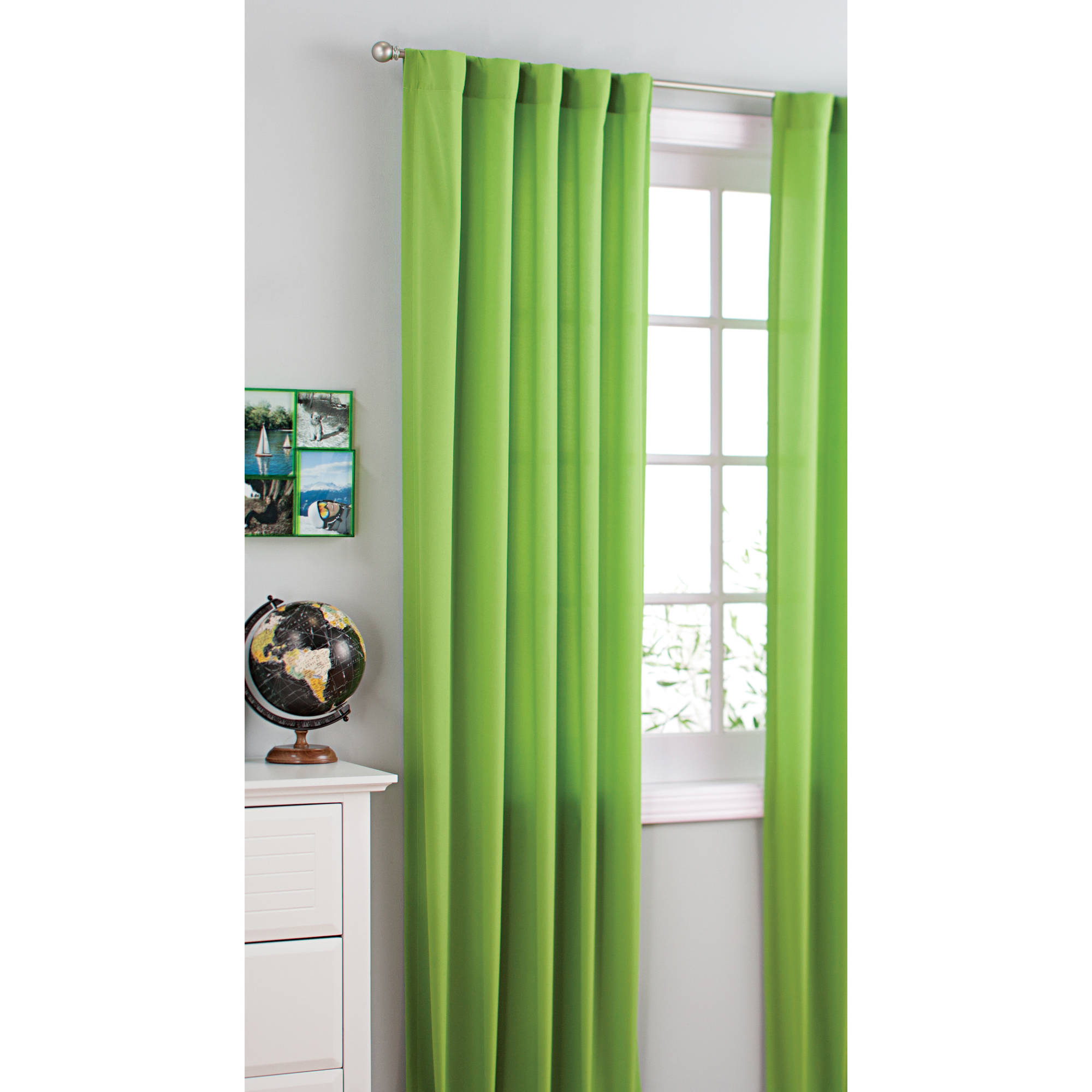 Your Zone Girls Bedroom Curtain Panels, Set of 2