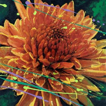 Mum in Motion Rolled Canvas Art - Bruce Langton (12 x 12)