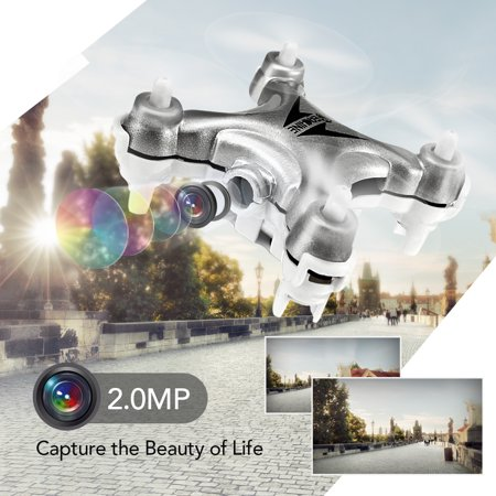 2 Mp Cmos Mini - Eachine E10C 2MP 2.4G 4CH 6-Axis RTF Mini Gyro RC Drone Quadcopter With LED Light 3 Flight Speed Modes, Flip / Hand Launch / 360° Rolling
