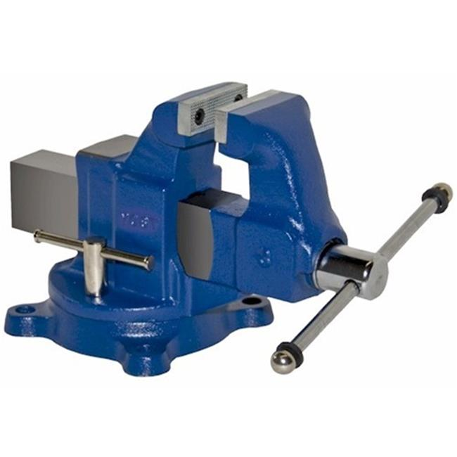 "Yost Vises 12035 3-1 2""W Jaw Steel Utility Bench Vise by Zenith Innovations Inc"