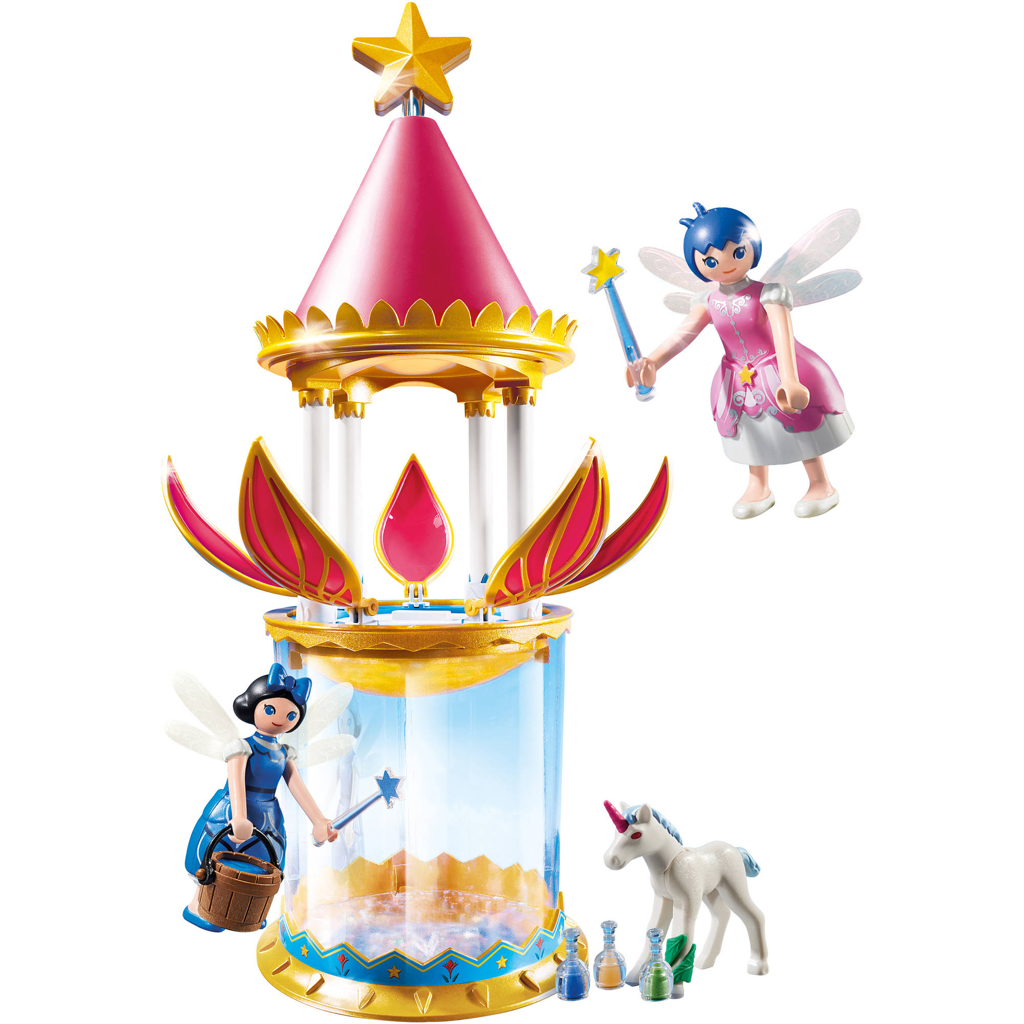 Playmobil Musical Flower Tower with Twinkle by