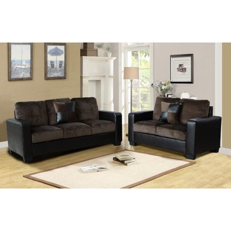 Beverly Fine Furniture Della 2 Piece Living Room Set