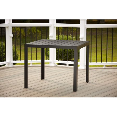 Cosco Outdoor Dining Table Black