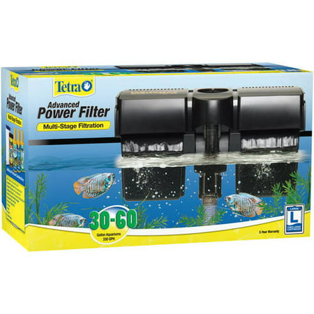 Tetra whisper 30 60 power filter for aquariums up to 60 for Tetra fish tank filter