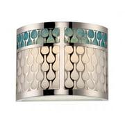 Nuvo Lighting  62/143  Bathroom Fixtures  Raindrop  Indoor Lighting  Vanity Light  ;Polished Nickel